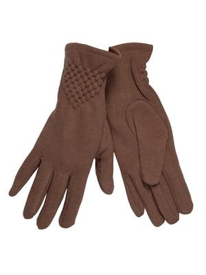Перчатки бежевого цвета | 5562859