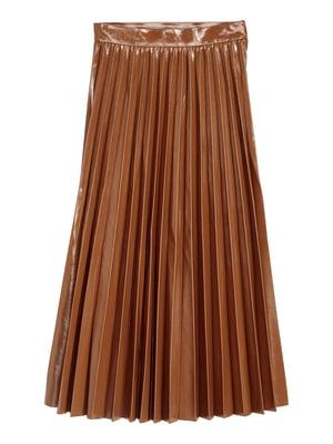 Спідниця коричневого кольору   5610010