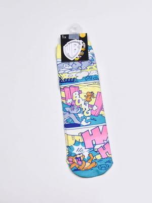 Шкарпетки в принт | 5610014