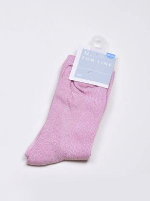 Носки розового цвета | 5610018