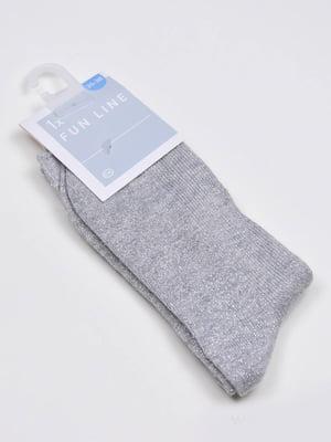 Носки серебристого цвета   5610019