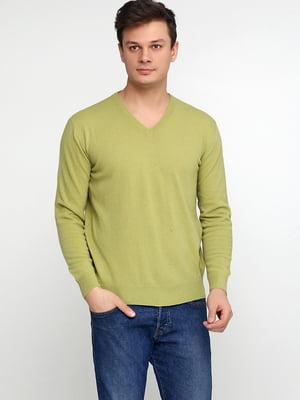Пуловер салатового цвета | 5610298