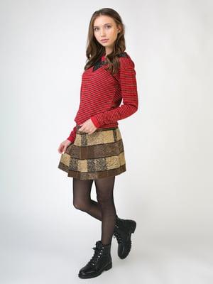 Комплект: пуловер и юбка   5605530