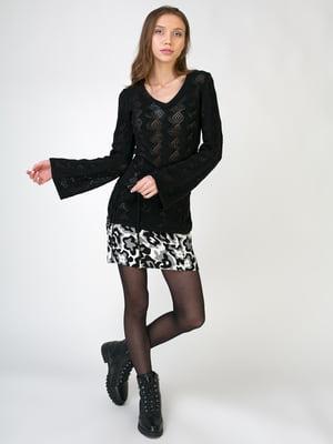 Комплект: пуловер і спідниця | 5605534