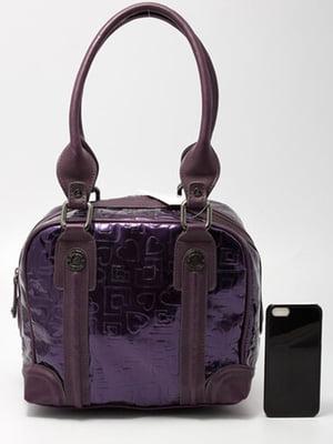 Сумка-тоут фіолетова | 5609940