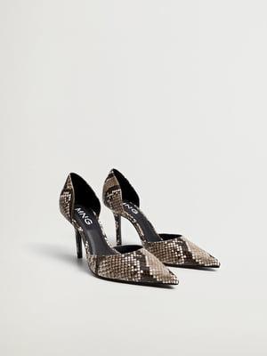 Туфлі у принт   5609814