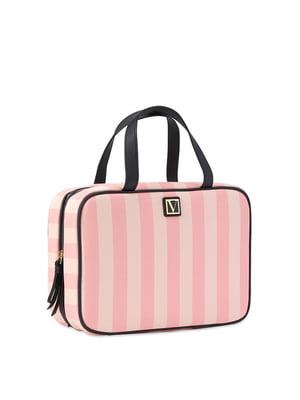 Косметичка рожева в смужку   5610399