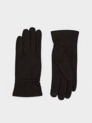 Рукавички чорні | 5610270