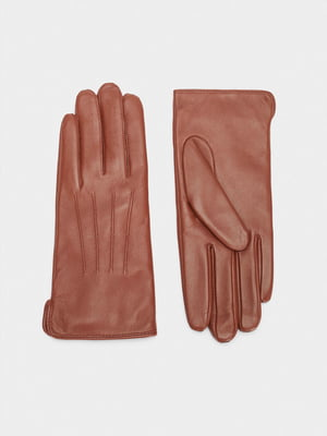 Рукавички коричневі | 5610274