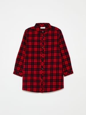 Платье красное в клетку | 5595360