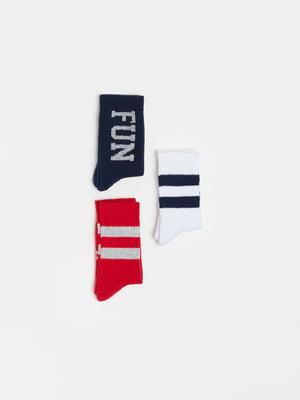 Комплект шкарпеток (3 пари) | 5536249