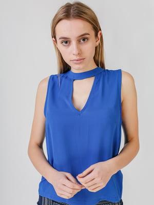 Блуза синя   5609561