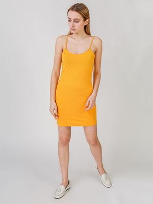 Платье желтое | 5609634