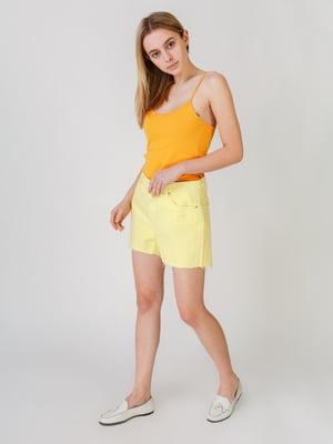 Шорти жовтого кольору   5609469