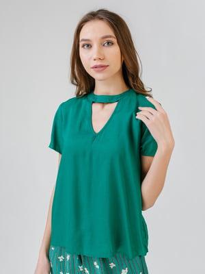 Блуза зелена   5609687