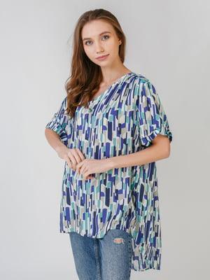 Блуза с принтом | 5609530