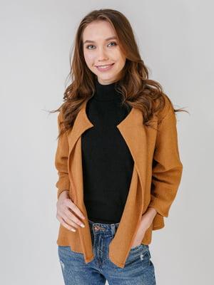 Жакет коричневый | 5609422