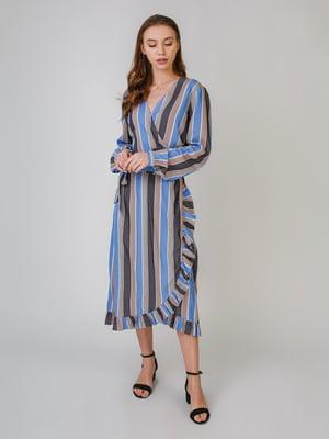 Сукня синя в смужку | 5609619