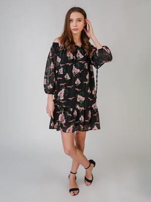 Сукня з квітковим принтом | 5609674