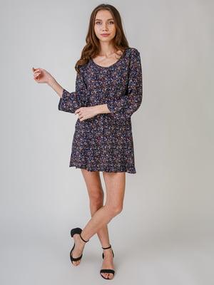 Платье с цветочным принтом | 5609406