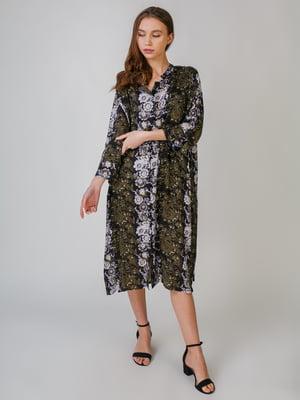 Платье с цветочным принтом | 5609417
