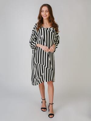 Платье белое в полоску | 5609407