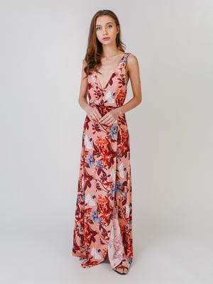Сукня з квітковим принтом | 5609622