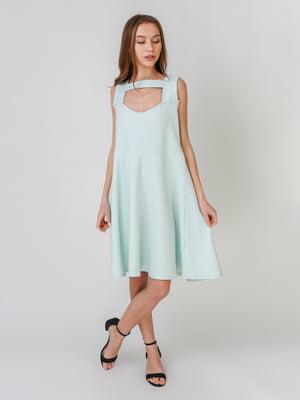 Сукня м'ятного кольору | 5609426