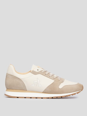 Кроссовки бело-бежевого цвета ALLURE 2020680-LCS | 5610309