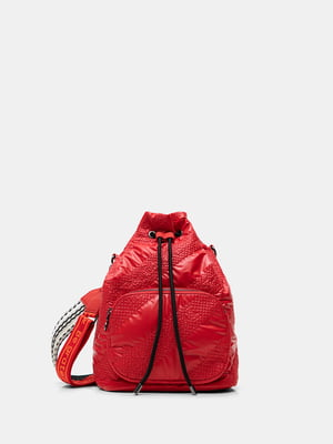 Сумка-рюкзак красная | 5609890