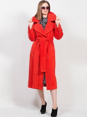 Пальто червоного кольору | 5613442