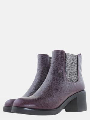 Ботинки бордовые | 5612518