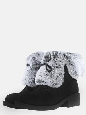 Ботинки черные | 5612523