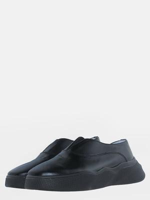 Мокасины черные | 5612544