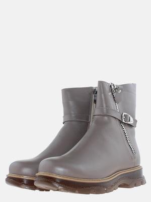 Ботинки кофейного цвета   5613526