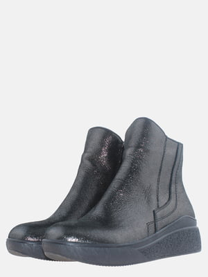 Ботинки графитового цвета   5613527