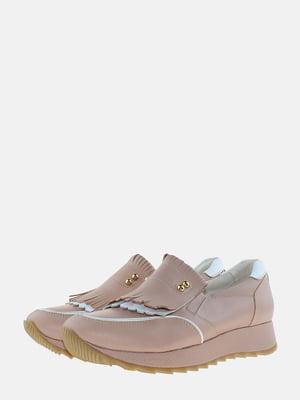Кроссовки пудрового цвета | 5613552