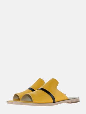 Шльопанці жовті | 5613611