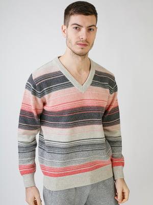 Пуловер в полоску | 5612882