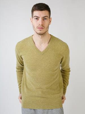 Пуловер салатового цвета | 5612877