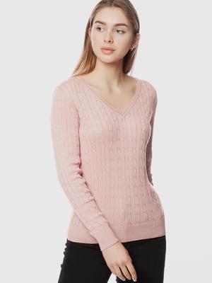 Пуловер рожевий | 5613908
