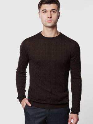 Джемпер коричневый | 5613913