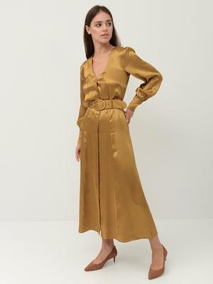 Сукня гірчичного кольору | 5450312
