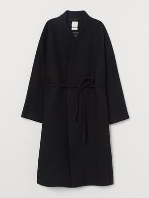 Пальто чорне | 5552128