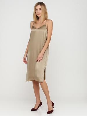 Платье бежевого цвета | 5613020