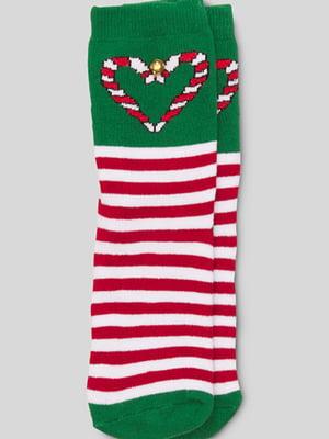 Носки разноцветные в полоску | 5614053
