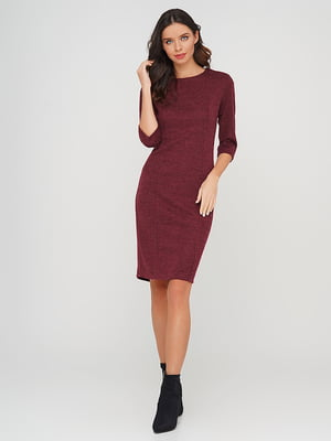 Платье бордовое | 5614455