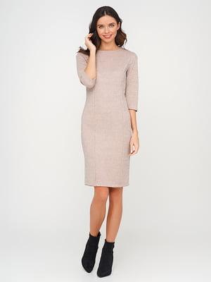 Платье бежевого цвета | 5614457