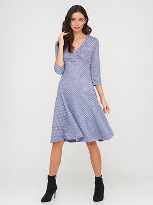 Платье голубого цвета | 5614461