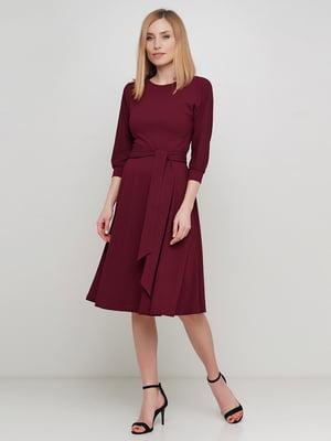 Платье бордовое | 5614474